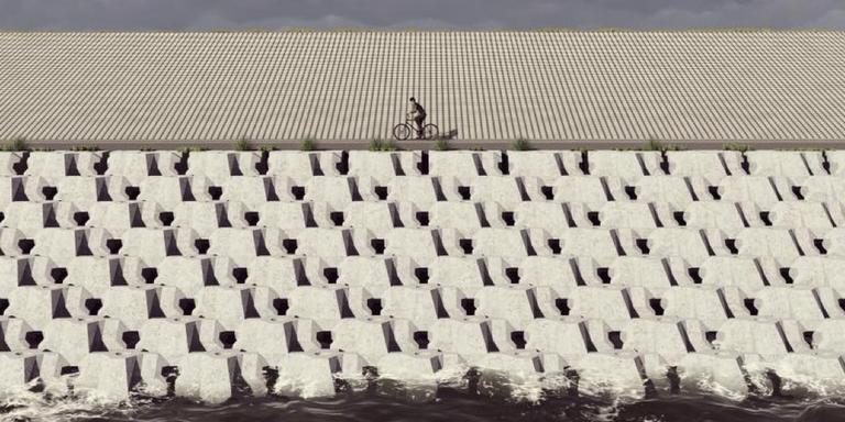 fietspad afsluitdijk