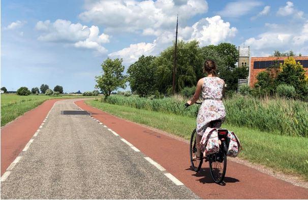 foto startnotitie fiets