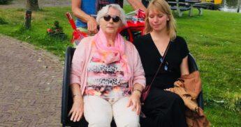 Marije Boonstra en Oma