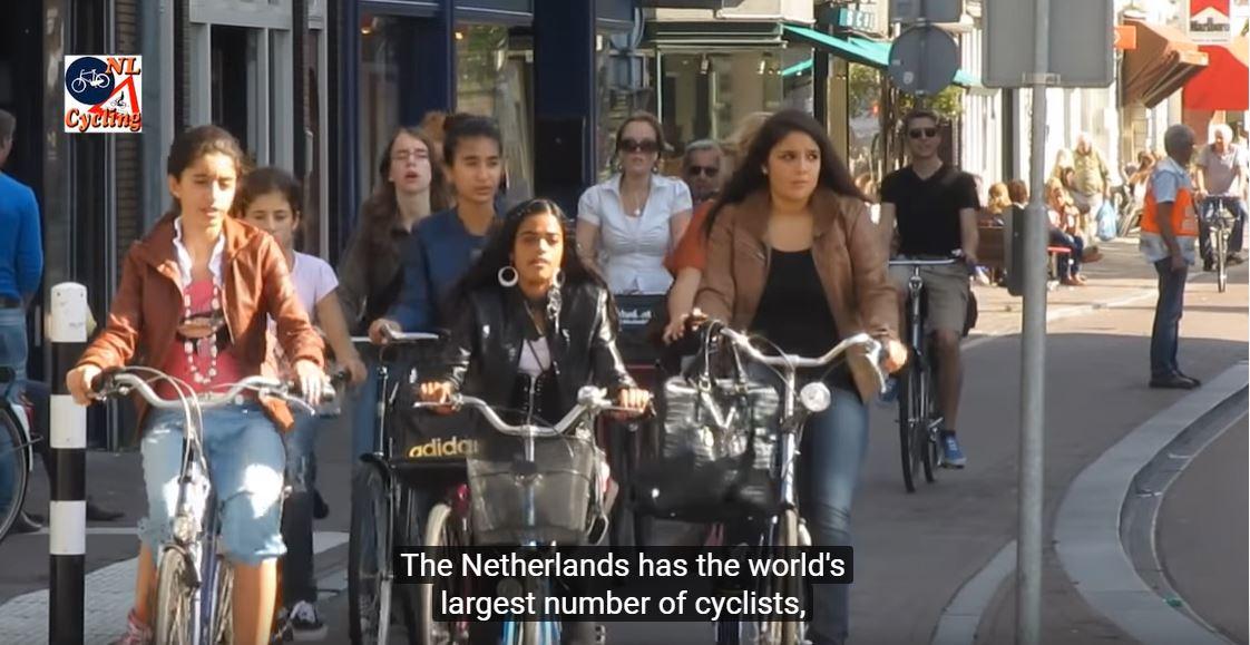 v bicycle dutch