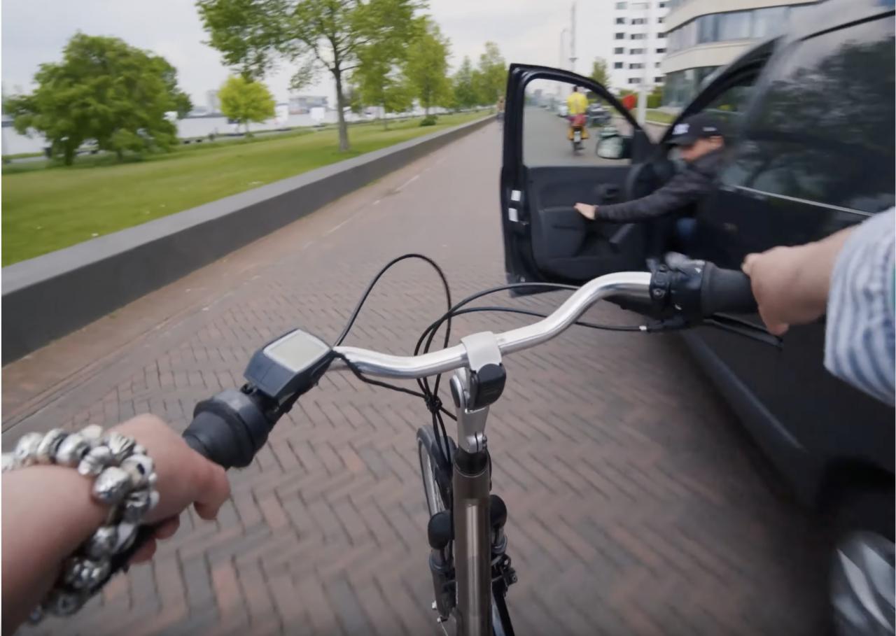 Wat komt erop je fietspad?