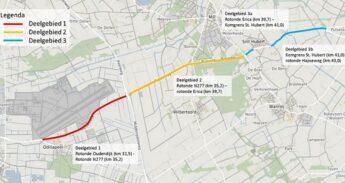 Kaart N264 Odiliapeel-Sint Hubert