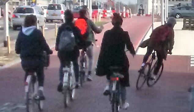overgang-fietsstraat-fietspad-Westlandseweg