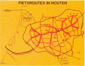 Fietsroutes