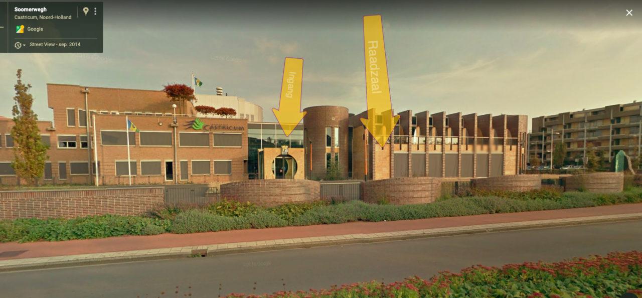 Raadzaal-gemeentehuis