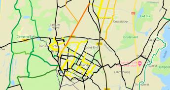 Netwerk kaart