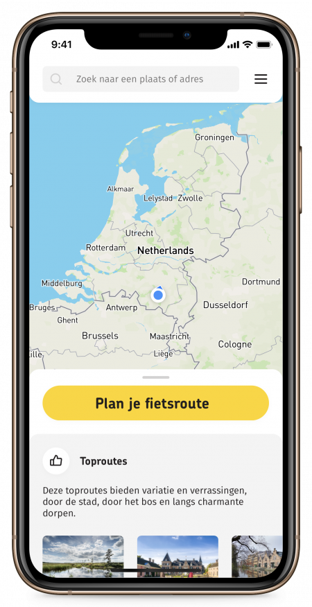 Routeplanner – 2