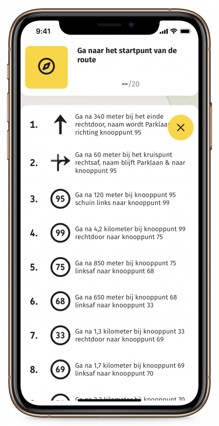 Routeplanner – 7