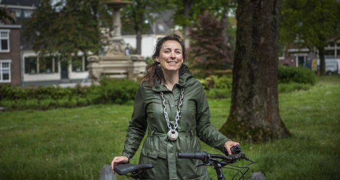 Fietsburgemeester Marijn de Vries wil dat kinderen meer fietsen