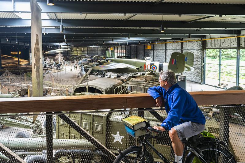 Fietsbrug Oorlogsmuseum Overloon