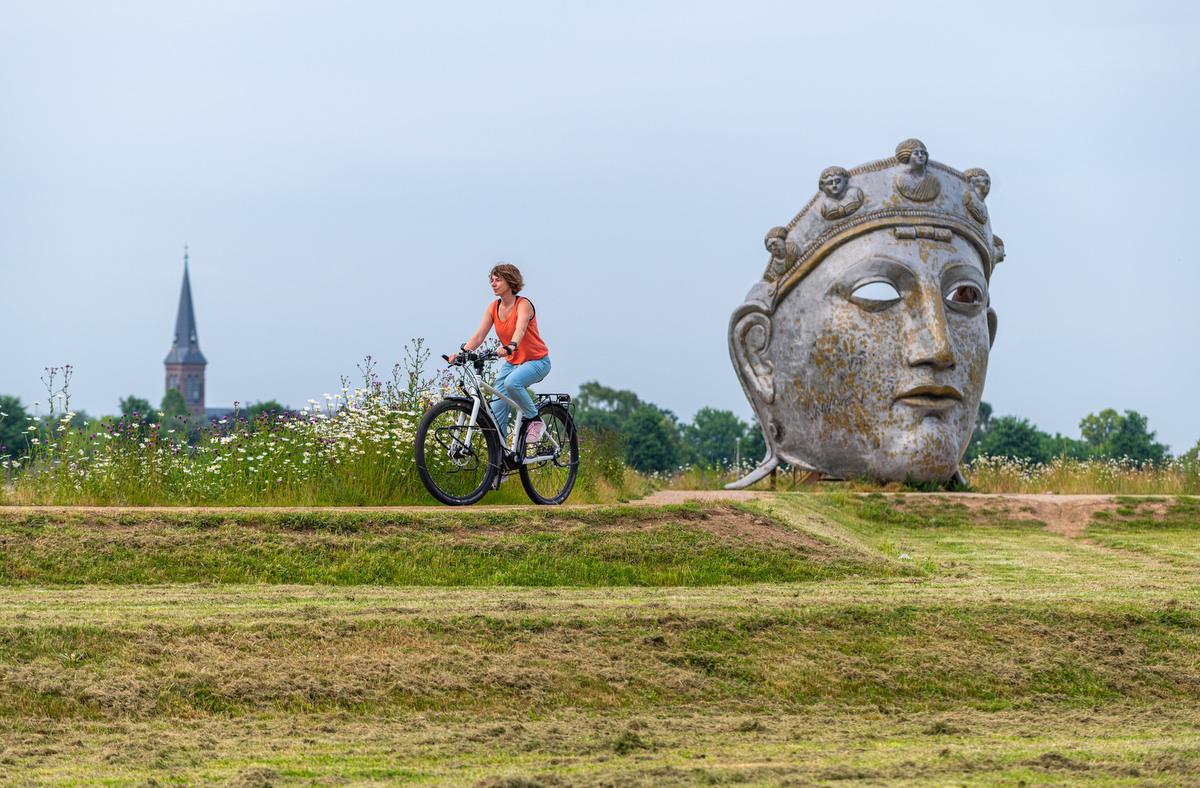 fietsen ind e omgeving van Nijmegen