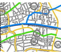 Oostveenbrug kaart
