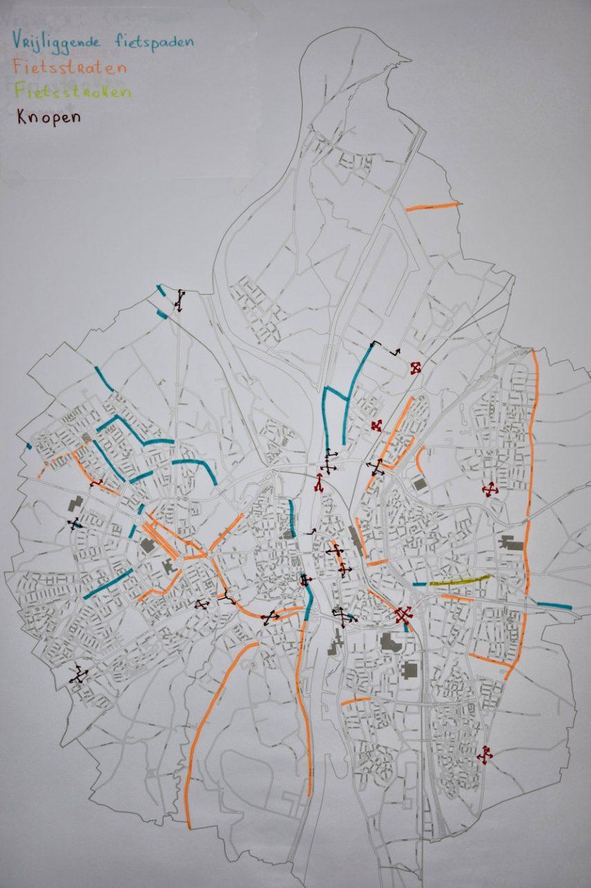 Wensenkaart fietsverkeer 2021
