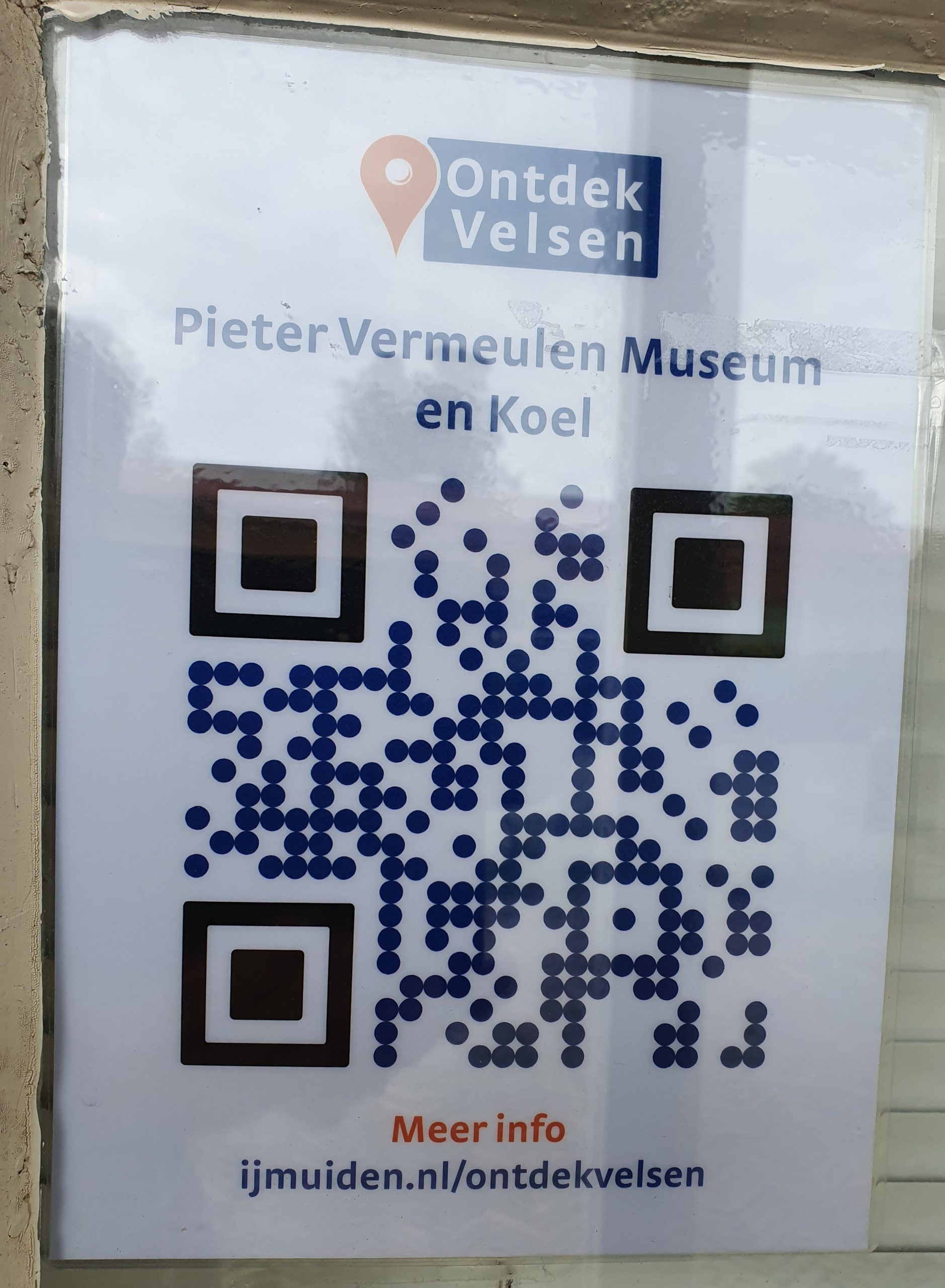 De QR code Pieter Vermeulen Museum en Koel