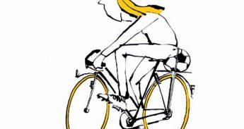 fietsje geel